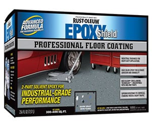Rust-Oleum EpoxyShield Garage Floor Coating Review