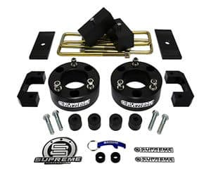 Supreme Suspensions Lift Kit 3.5 Front Suspension Lift + 3 Rear Suspension Lift with Rear Axle Shims for Chevy Silverado 1500 Review