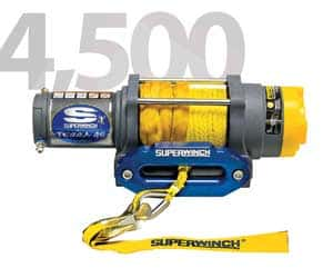 Superwinch 1145230 Terra 45 4500lbs/2046kg Winch Review