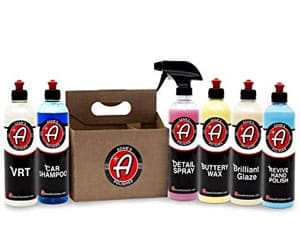 Adam's Exterior 6 Pack - Includes Six Iconic Products to Professionally Detail Your Entire Vehicle - Clean, Polish, Wax, Shine, and Protect Your Vehicle Review