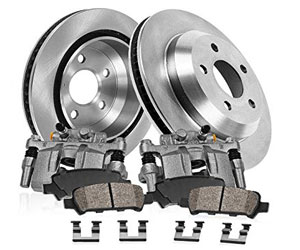 Callahan CCK02594 2x Real Original Calipers, 2x OE Rotors, 4x Low Dust Ceramic Brake Pads Review