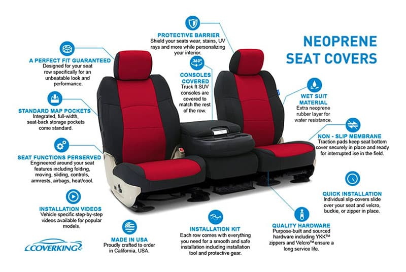 Best Seat Covers For Tacoma in '2020' Reviewed