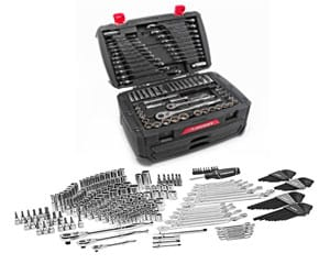 Husky Mechanics Tool Set Kit, 268 Piece Case, Chromium Steel Tools Durable Review