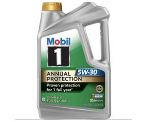 Mobil 1 Annual Protection 5W-30 Synthetic Motor Oil Review
