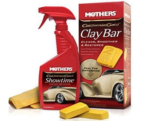 Mothers California Gold Clay Bar System Car Scratch Repair Kit Review