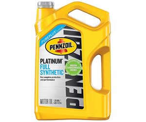 Pennzoil Platinum Full Synthetic Motor Oil with PurePlus® Technology Review