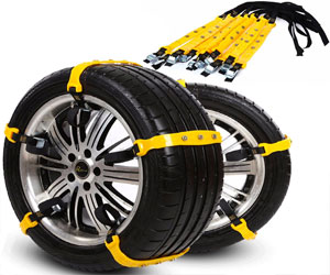 PrettyQueen Snow Anti-Slip Tire Car Chains Review