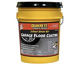 Quikrete Garage Floor 2 Part Epoxy Kit Review