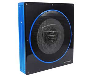 Rockville RW10CA 10 800 Watt Slim Low Profile Active Powered Car Subwoofer Sub Review