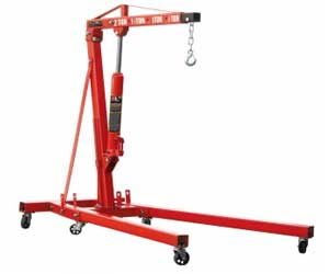 Torin Big Red Steel 2 Ton Engine Hoist With Leveler Review