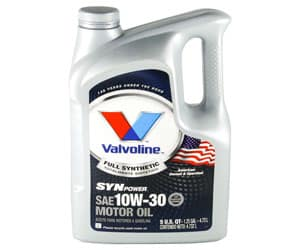 Valvoline Synpower 10W-30 Full Synthetic Motor Oil Review