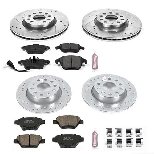 Power Stop K5803 Front and Rear Z23 Evolution Brake Kit Review
