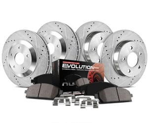 Power Stop K2303 Front and Rear Z23 Evolution Brake Kit Review