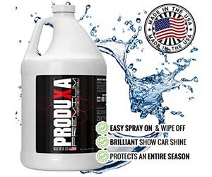 PRODUXA Premium Super Gloss & Ultra Hydrophobic Shine Spray 1 Gallon/ 3.79L Review