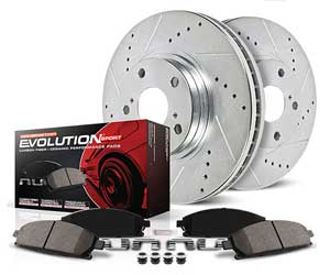 Power Stop K2798 Front and Rear Z23 Evolution Brake Kit with Drilled/Slotted Rotors and Ceramic Brake Pads Review