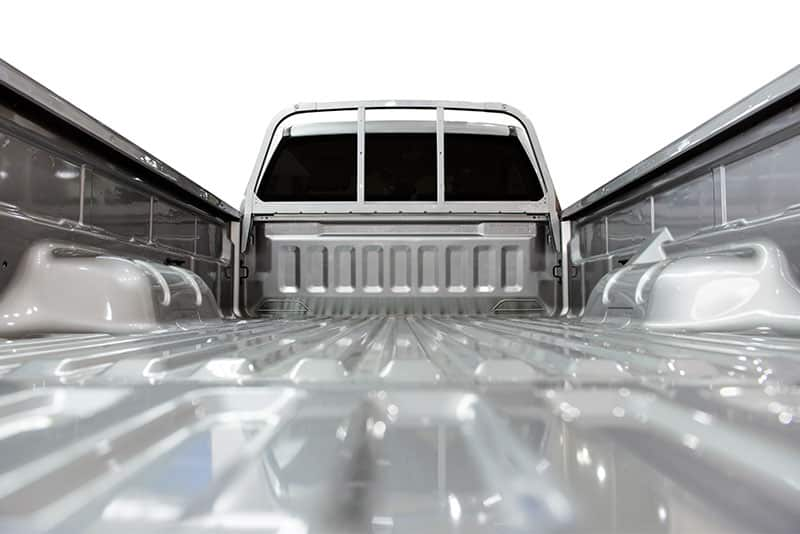 computer graphic of a roll on bedliner
