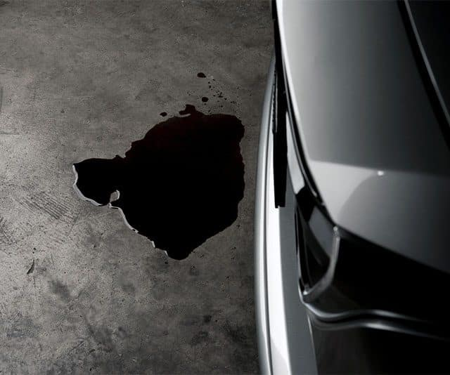 The best oil stop leak will make sure you don't see this!